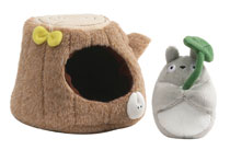 Image: My Neighbor Totoro Plush: Small Tree Trunk Set  (4-inch) - Gund