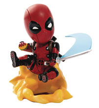 Image: Marvel Comics MEA-004 Figure: Deadpool Ambush  - Beast Kingdom