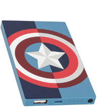 Image: DC Power Bank  [4000 mAh]: Captain America - Maiiki