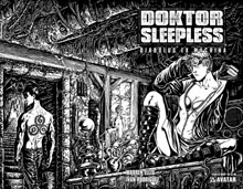 Image: Doktor Sleepless #13 (wraparound cover) - Avatar Press Inc