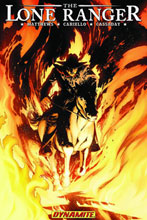 Image: Lone Ranger Vol. 03: Scorched Earth SC  - D. E./Dynamite Entertainment
