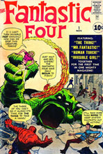 Image: Fantastic Four #1 Wall Poster  -