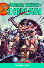 Image: Savage Sword of Conan Vol. 08 SC  - Dark Horse