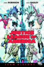 Image: Justice League of America: Team History HC  - DC Comics
