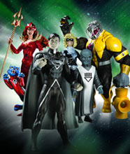 Image: Blackest Night Series 7 Action Figure Set  (4) - DC Direct