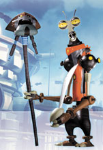 Image: Ratchet & Clank Series 2 Action Figure: Rusty Pete  - DC Direct