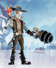 Image: Ratchet & Clank Series 2 Action Figure: Smuggler  - DC Direct