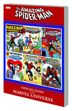 Image: Amazing Spider-Man: Official Index to the Marvel Universe SC  - Marvel Comics