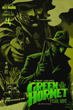 Image: Green Hornet Year One #4 (25-copy Cassaday B&W incentive) (v25) - D. E./Dynamite Entertainment