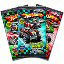 Image: Hot Wheels Trading Cards Fun Paks Box  - Enterplay LLC
