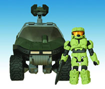 Image: Halo 3 Minimates Series 1: M12 Warthog LRV  - Diamond Select