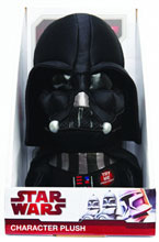 Image: Star Wars Talking Plush: Darth Vader 9-Inch  -