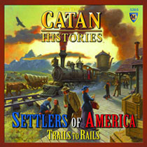Image: Catan Histories: Settlers of America Trails - Rails  - Mayfair Games