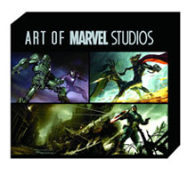 Image: Art of Marvel Studios Slipcase HC  - Marvel Comics