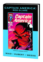 Image: Captain America: Red Glare HC  (DM variant cover) - Marvel Comics