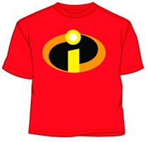 Image: Incredibles: Basicon T-Shirt [Red]  (M) -