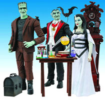 Image: Munsters Select Action Figure: Herman  - Diamond Select Toys