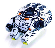 Image: Star Wars Super Deformed Plush: Millennium Falcon  -
