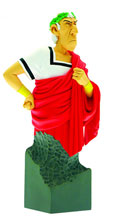 Image: Asterix Mini-Bust: Caesar Red Toga  -