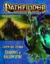 Image: Pathfinder Adventure Path: Carrion Crown #6 - Shadows Gallowspire  - Paizo Publishing LLC