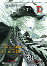 Image: Vampire Hunter D Novel Vol. 18: Fortress of the Elder God SC  - Dark Horse Comics