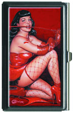 Image: Bettie Page: Red Devil Small Case  - Dark Horse Comics