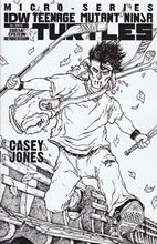 Image: Teenage Mutant Ninja Turtles Micro Series #6 (Casey Jones) (10-copy incentive cover) (v10) - IDW Publishing