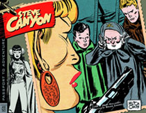 Image: Complete Steve Canyon Vol. 02: 1949-1950 HC  - IDW Publishing