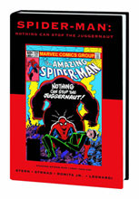 Image: Spider-Man: Nothing Can Stop the Juggernaut HC  (DM variant) (#105) - Marvel Comics