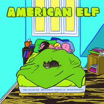 Image: American Elf Vol. 04: Sketchbook Diaries of James Kochalka SC  - DC Direct