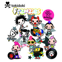 Image: Tokidoki Punkstar Frenzies 30-Piece Blind Mystery Box Display  -