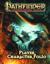 Image: Pathfinder Roleplaying Game: Player Character Folio SC  -