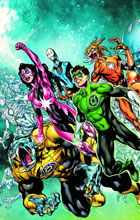 Image: Green Lantern: Rise of the Third Army HC  (N52) - DC Comics