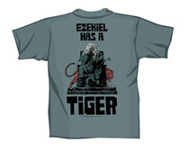Image: Walking Dead Ezekiel Has a Tiger Women's T-Shirt  (L)