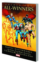 Image: Marvel Masterworks: Golden Age All-Winners Vol. 01 SC