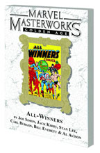 Image: Marvel Masterworks: Golden Age All-Winners Vol. 01 SC  (DM variant) (55)