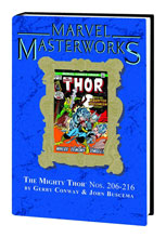 Image: Marvel Masterworks Vol. 199: Mighty Thor Nos. 206-216 HC  - Marvel Comics