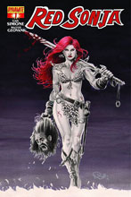 Image: Red Sonja #1 (Main cover - Nicola Scott)