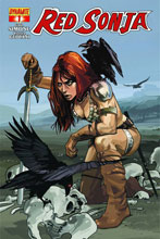 Image: Red Sonja #1 (cover B - Fiona Staples)