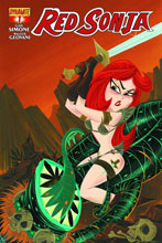 Image: Red Sonja #1 (Stephanie Buscema subscription variant cover)