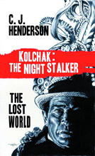Image: Kolchak and the Lost World Novel SC  - Moonstone