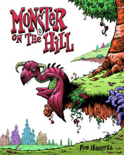 Image: Monster on the Hill SC  - Top Shelf Productions