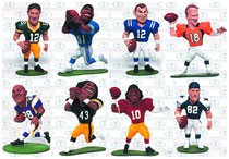 Image: TMP NFL Small Pros Mini-Figure Series 1 Blind Mystery Box Display