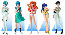 Image: Evangelion Portraits New Movie EX Portraits Trading Figure 6-Piece Assortment