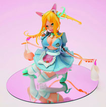 Image: Funny Knights: Rope Skipping Maid Roppu PVC Figure