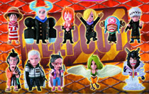 Image: One Piece Collection Punk Hazard Shambles Trading Figure 12-Piece Assortment