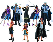 Image: One Piece Law's Ambition Chozokei Tamashii 8-Piece Assortment