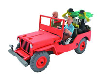 Image: Tintin Transports: Willys Jeep