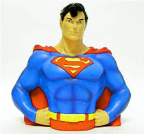 Image: DC Bust Bank: Superman