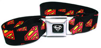 Image: DC Collage Seatbelt Belt: Superman Symbol